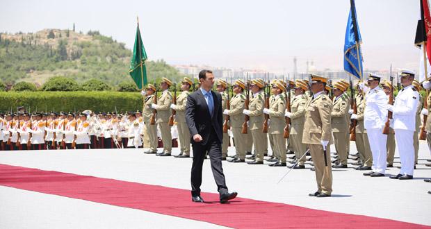President-al-Assad-sworn-in-1