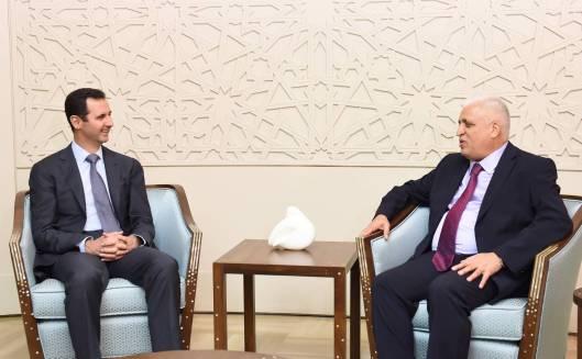 Bashar al-Assad and Faleh al-Fayyad-1