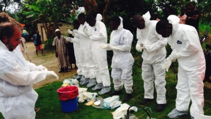 Cuban (you read corrrectly) medical teams preparing to help bury Ebola victims in West Africa