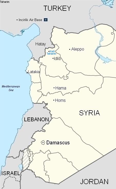 kafr-taharim-map