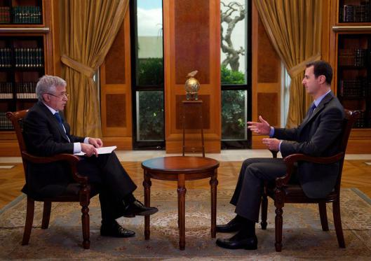President al-Assad to Portuguese State TV-1