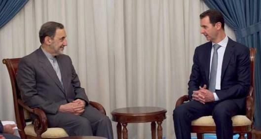 President-al-Assad-Ali-Akbar-Velayati-620x330