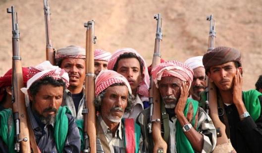 Yemeni tribal troops