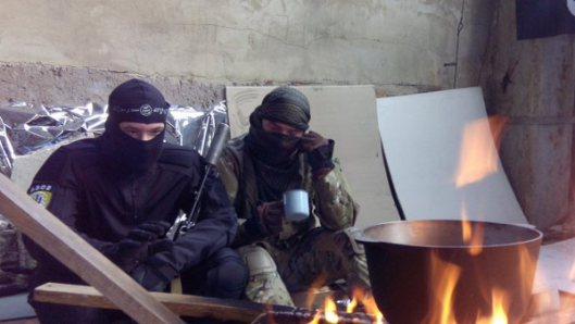 NATO-puppet Azov Battalion Wears Daesh Insignia-3