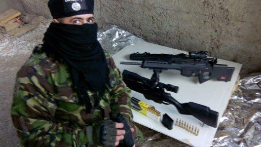 NATO-puppet Azov Battalion Wears Daesh Insignia-4