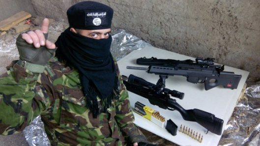 NATO-puppet Azov Battalion Wears Daesh Insignia-6