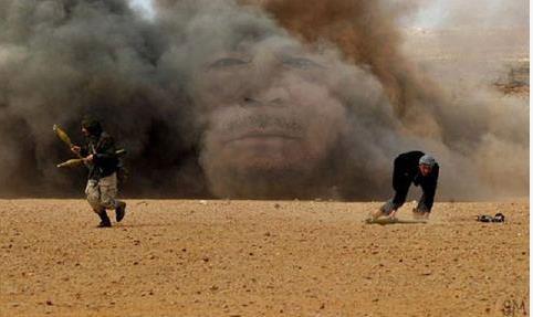 Gaddafi-rising